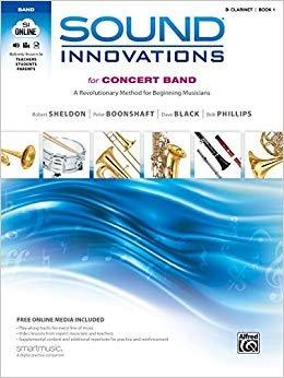 Sound Innovations B Clarinet Book 1