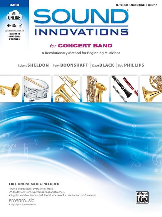 Sound Innovations B Tenor Saxophone Book 1
