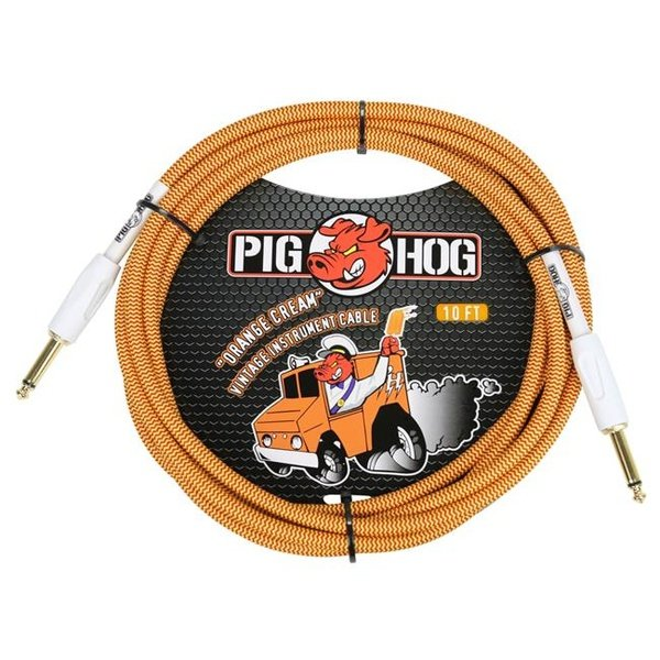 PIG HOG 10 FT ORANGE CREAM