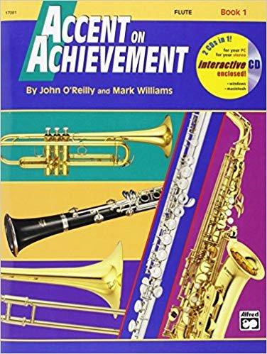 Accent on Achievement Flute Book 1 & CD