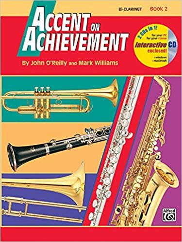 Accent on Achievement B Clarinet Book 2