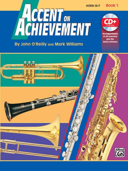 Accent on Achievement Horn In F Book 1 & CD