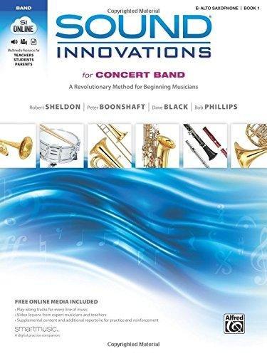 Sound Innovations E Alto Saxophone Book 1