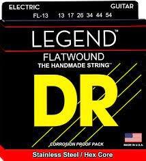 DR Electric Legend Flatwound 13-54