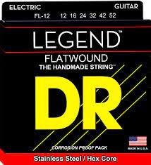 DR Electric Legend Flatwound 12-52