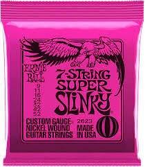 Ernie Ball 7 String Super Slinky 9-52