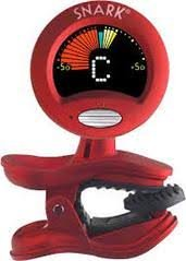 SNARK ST-2 ALL INSTRUMENT TUNER RED/SILVER