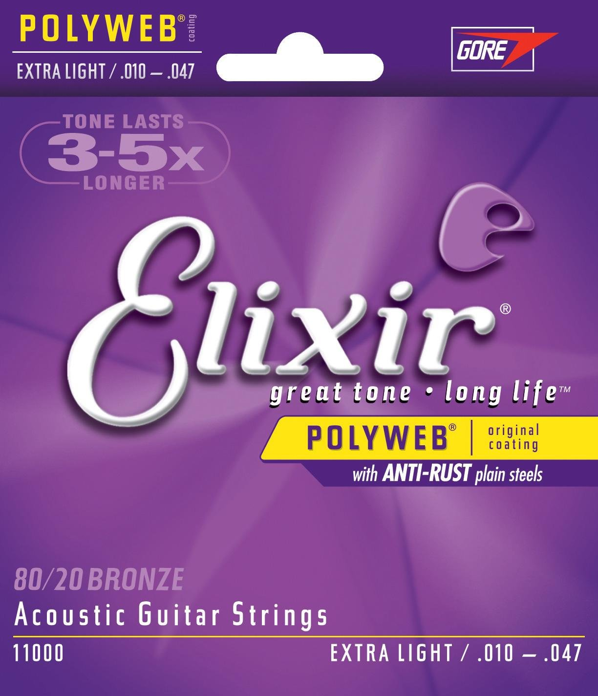 Elixir 11000 Acoustic Guitar Strings