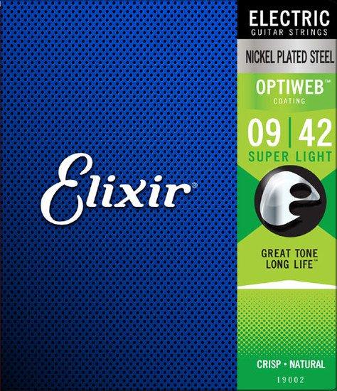 Elixir 19002 Electric Guitar Strings