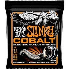Ernie Ball Slinky COBALT Electric Guitar Strings - #2722 - 9 - 46