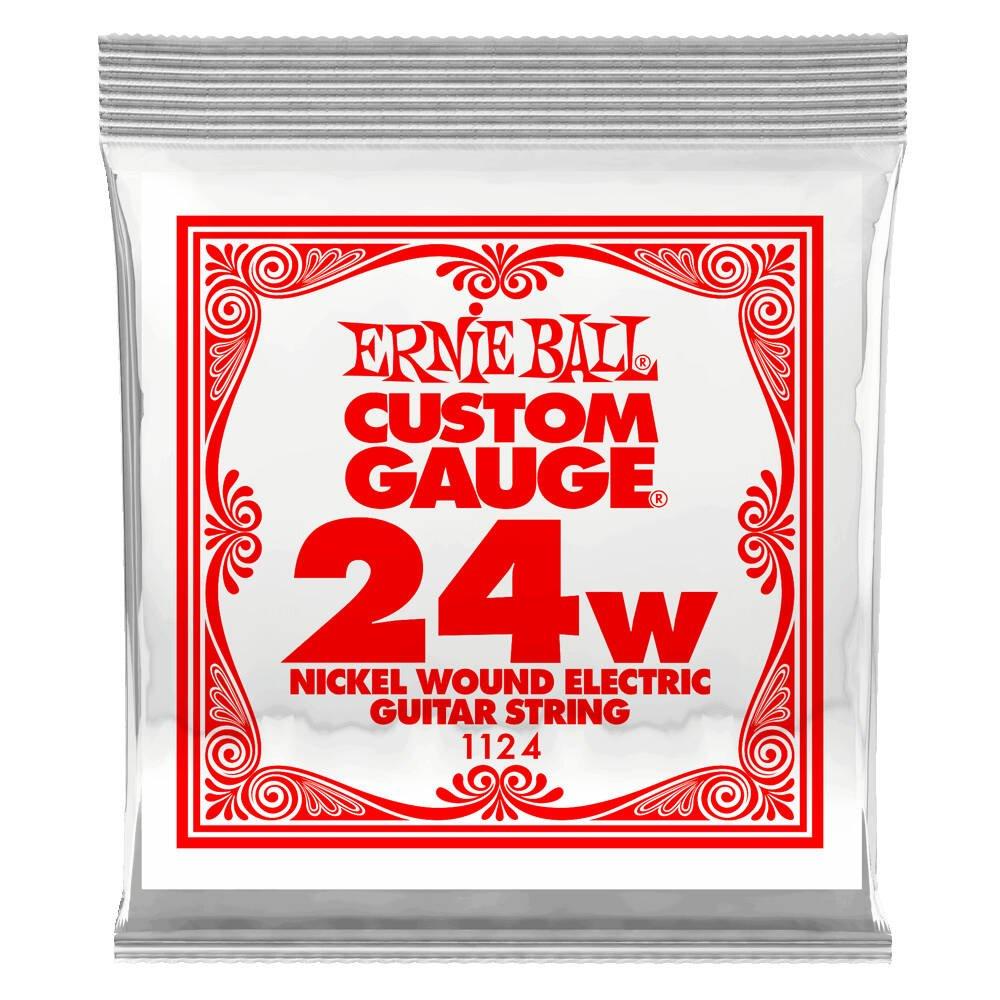 Ernie Ball 24s Nickel Wound Single String