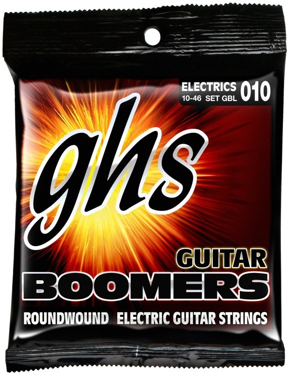GHS BOOMERS GBL010 ELECTRIC GUITAR STRINGS .10-.46