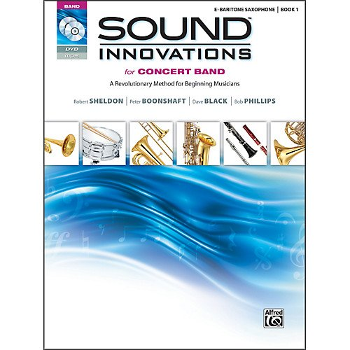 Sound Innovations E Baritone Saxophone Book 1 & DVD