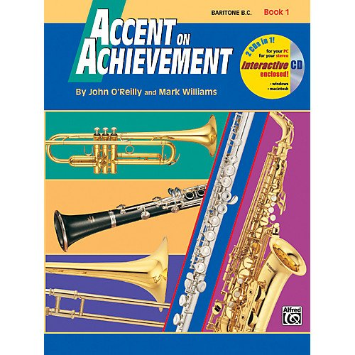 Accent on Achievement Baritone B.C. Book 1 & CD