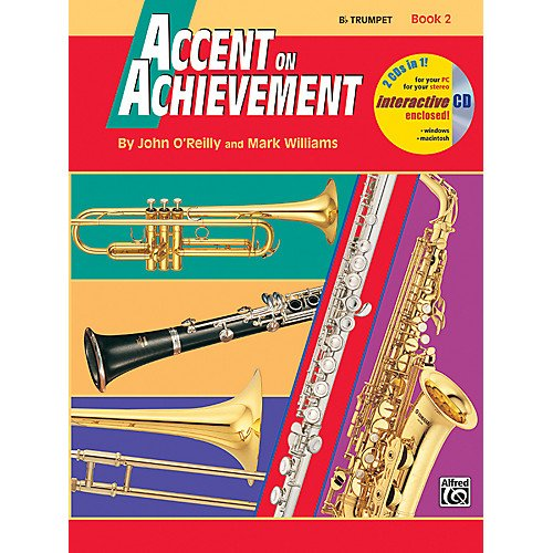 Accent on Achievement B Trumpet Book 2