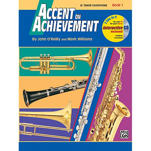 Accent on Achievement B Tenor Saxophone Book 1 & CD
