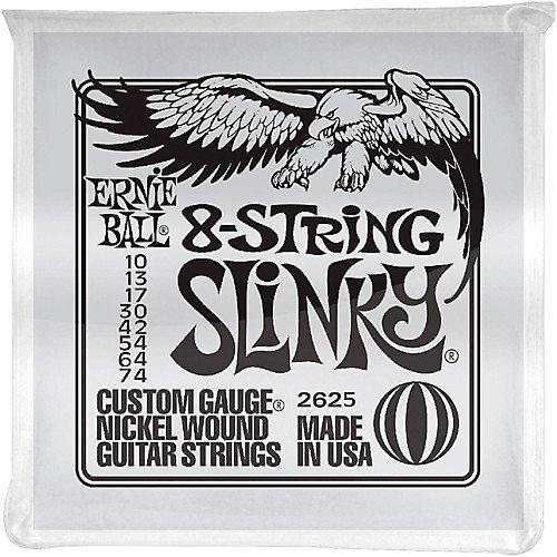 Ernie Ball 8-String Set Electric Guitar