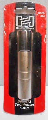 HOSA DMX512 TERMINATOR XLR3M