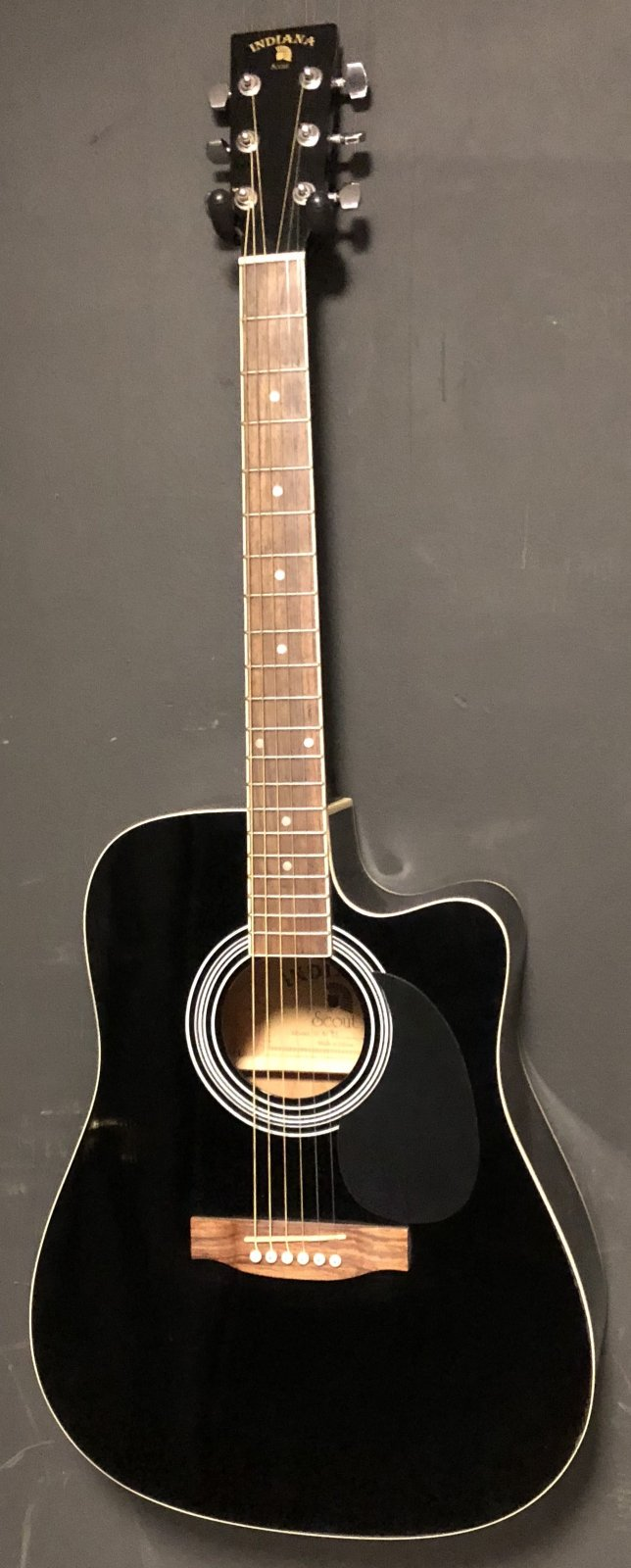Indiana Scout SCA-BK Acoustic Electric