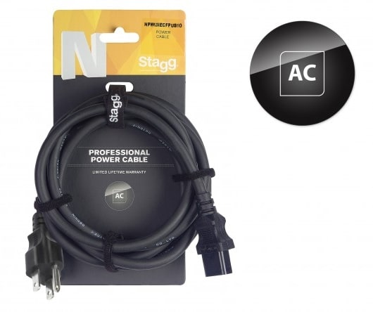 Stagg POWER CABLE 5M 16FT