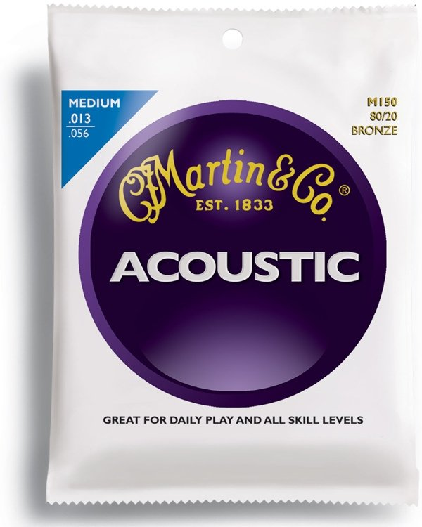 Martin M150 Acoustic Guitar Strings