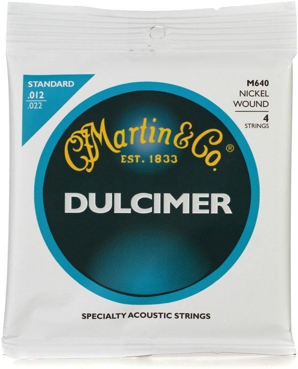 Martin M640 Dulcimer Strings Standard Nickel Wound