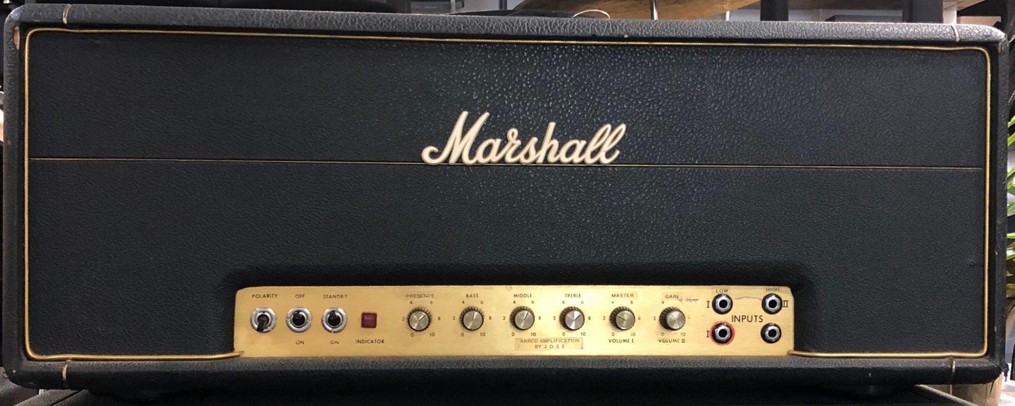 MARSHALL 50/100 W HEAD
