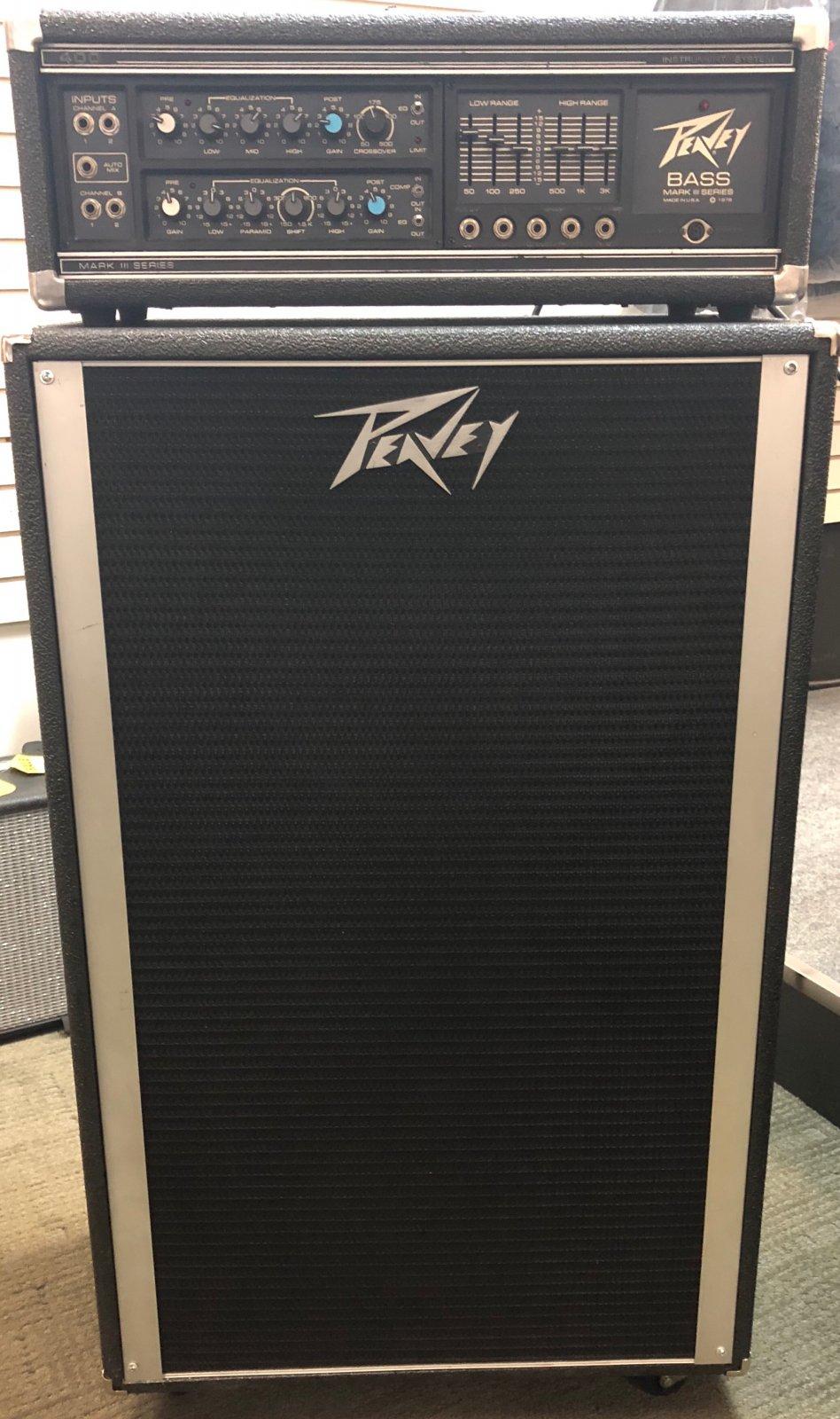 PEAVEY MARK 3 Bass Head & PEAVEY 215 CAB PAIR