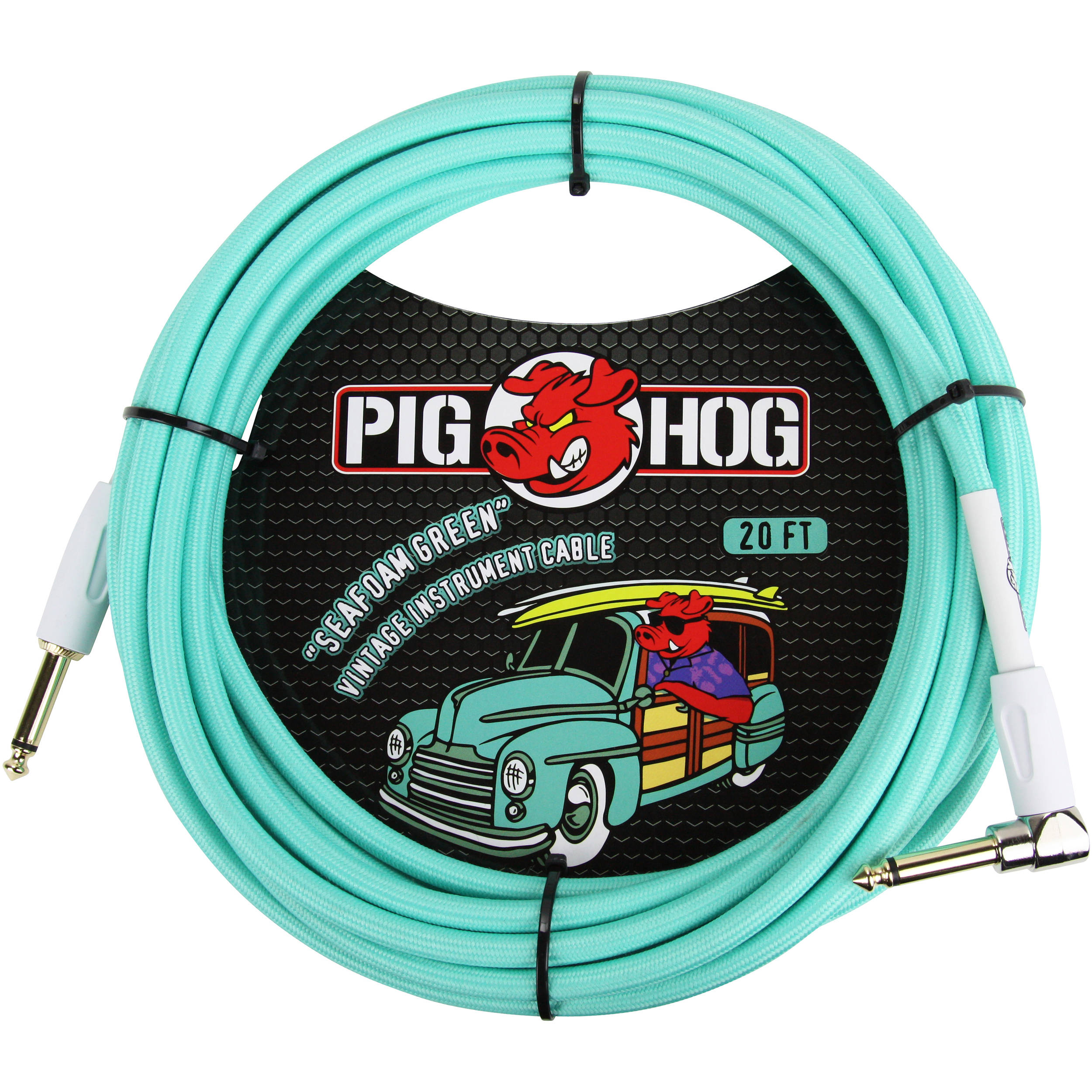 PIG HOG 20 FT SEAFOAM GREEN