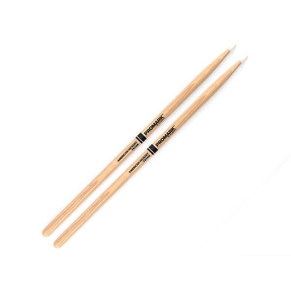 Promark Hickory 7A Nylon Tip drumstick