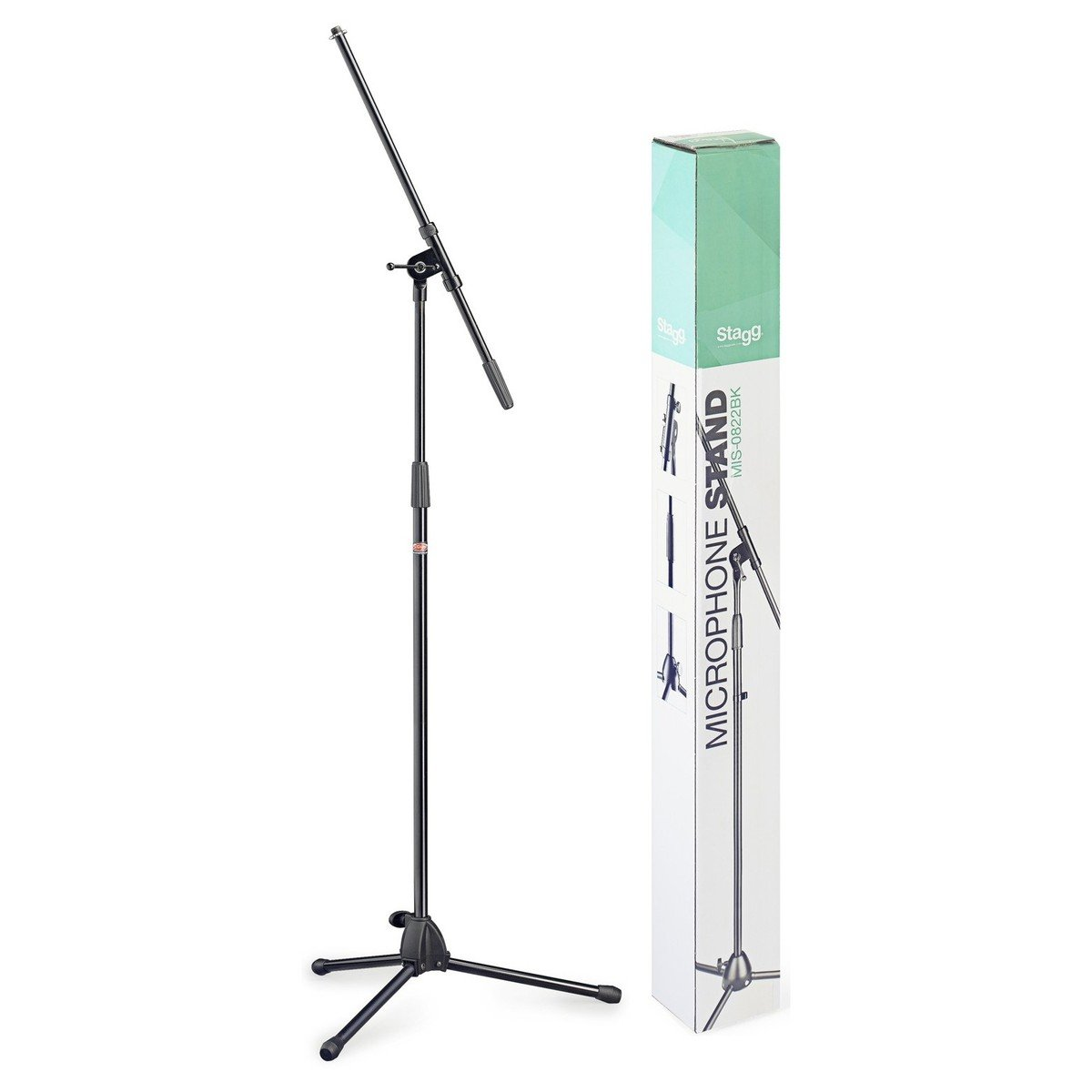 Stagg MIS-0822BK MICROPHONE STAND