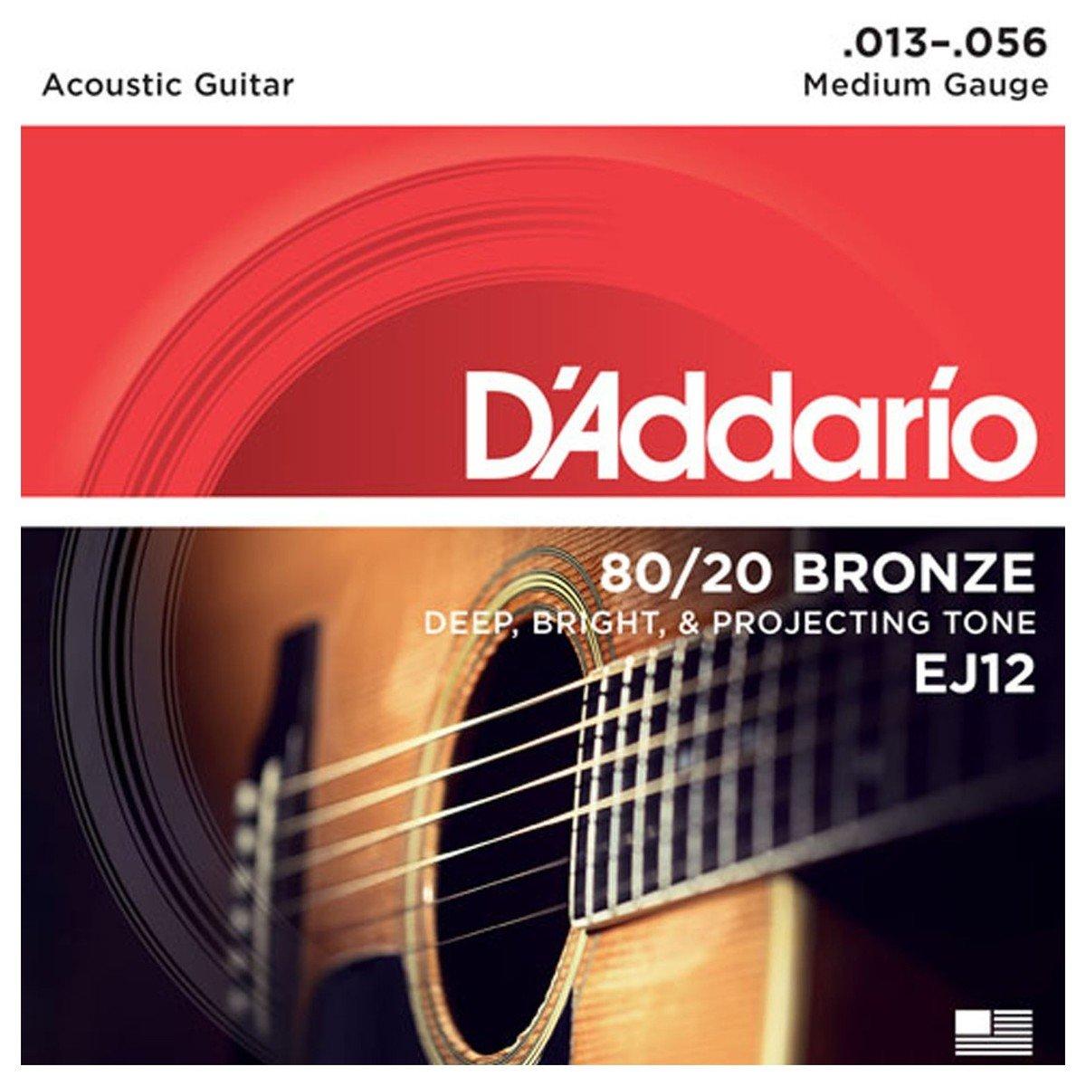 D'addario EJ12 Acoustic Guitar Strings