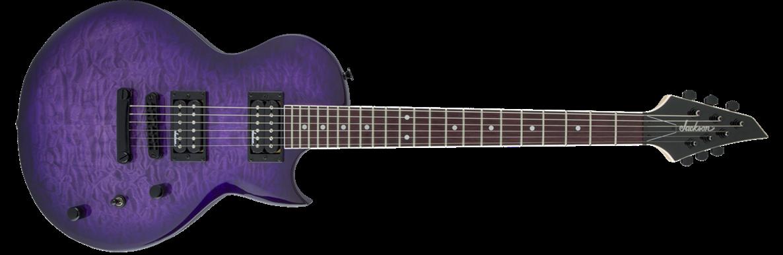 JACKSON  JS Series Monarkh SC JS22Q, Transparent Purple Burst