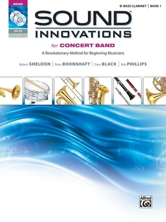 Sounds and Innovations B Bass Clarinet Book 1 & CD