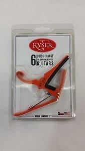 KYSER 6 STRING ACOUSTIC GUITAR CAPO