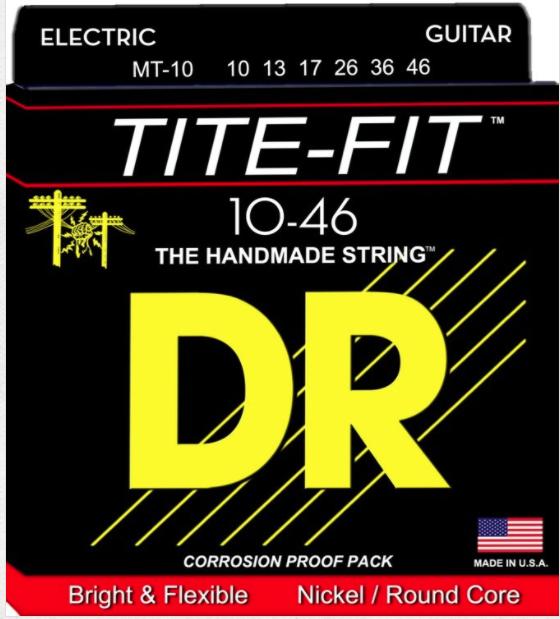DR TITE-FIT ELECTRIC STRINGS 10-49 MEDIUM