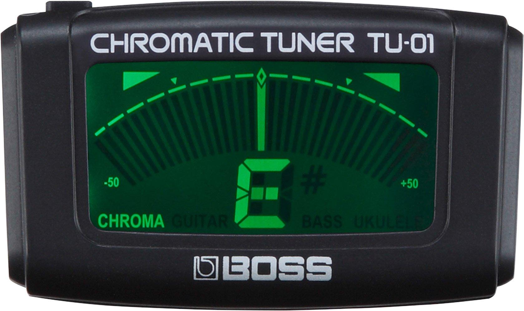 BOSS TU-01 CHROMATIC TUNER