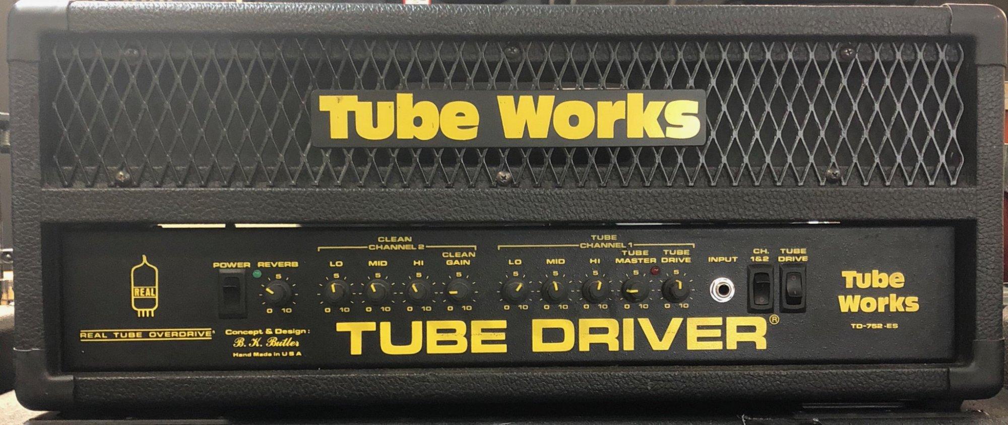 TUBE WORKS TUBE DRIVER TD-752-ES