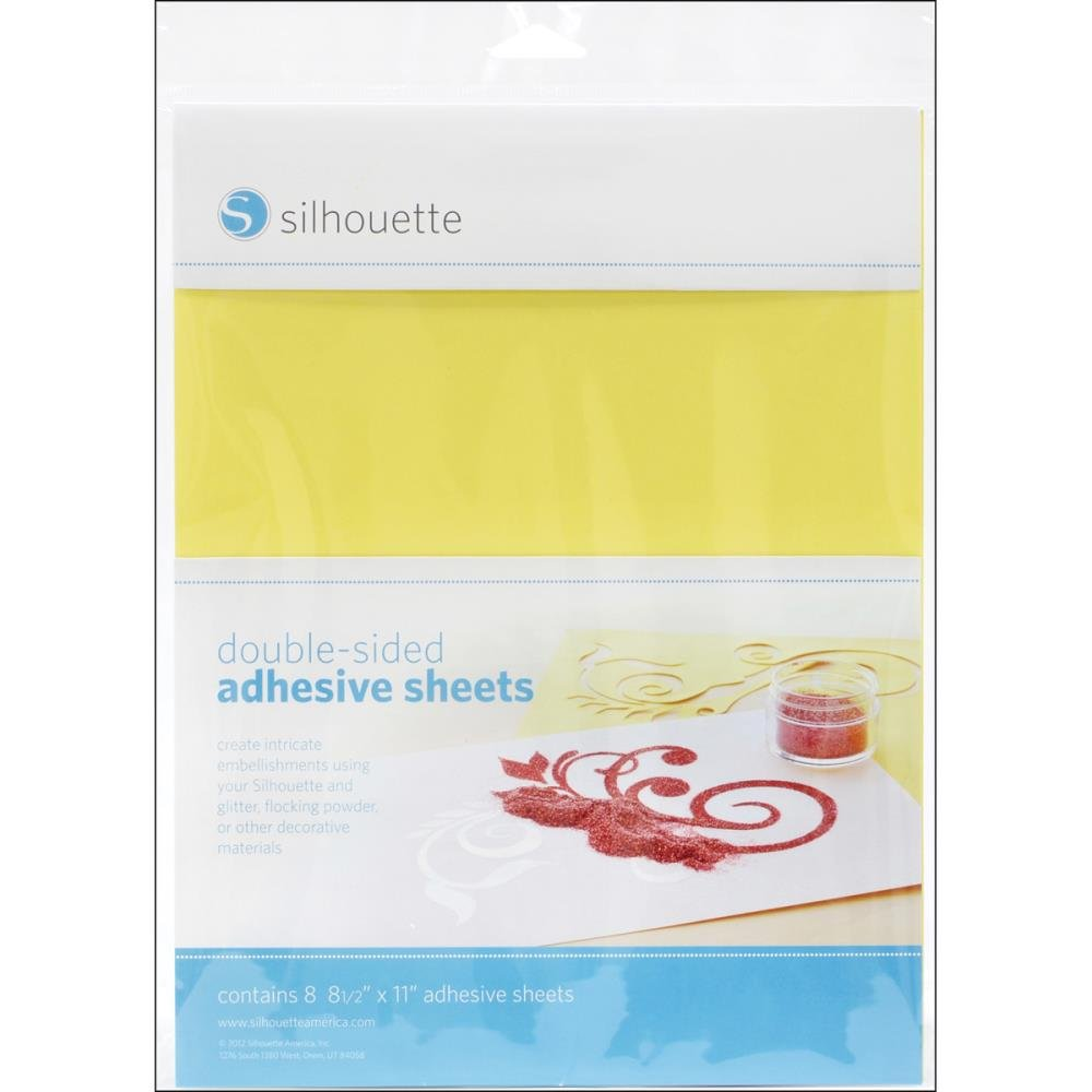Silhouette-Self Adhesive Sheets