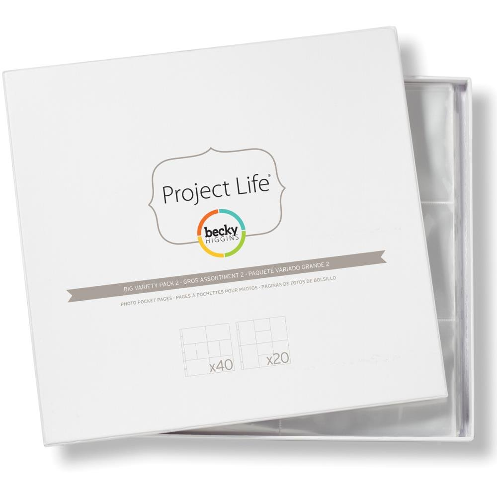 Project Life Page Refills-Big Variety Pack 2