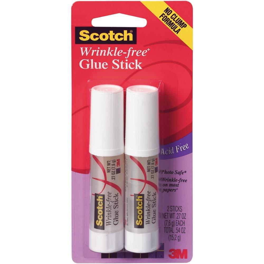 Scotch-Wrinkle Free Glue Stick (2 Pack)