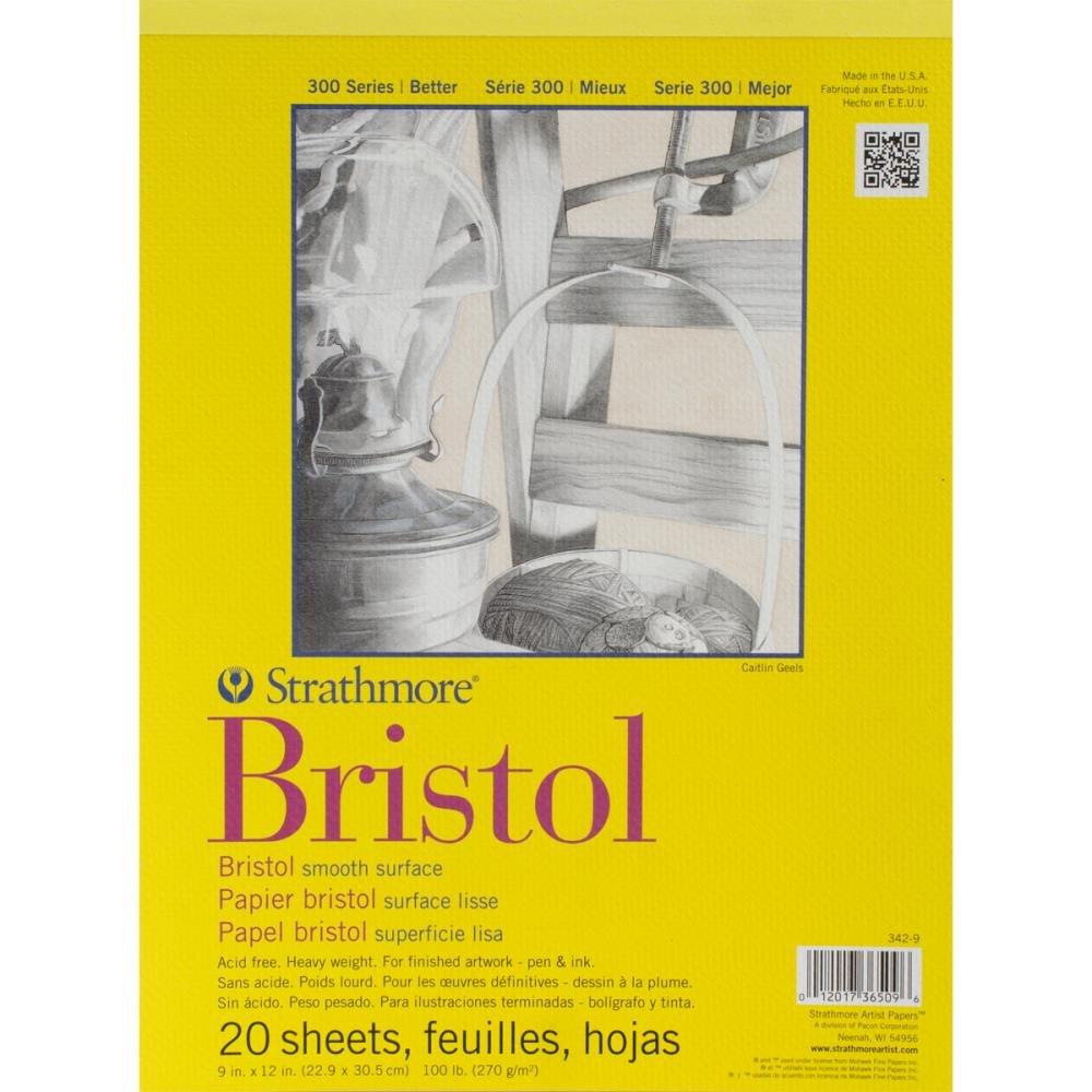 Strathmore Bristol Smoth Paper Pad