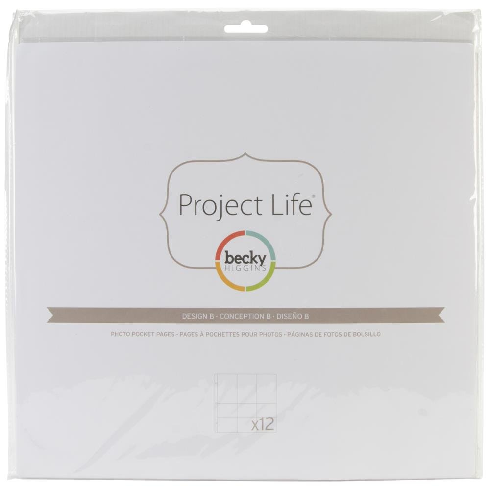 Project Life Page Refills-Design A (12 Pack)