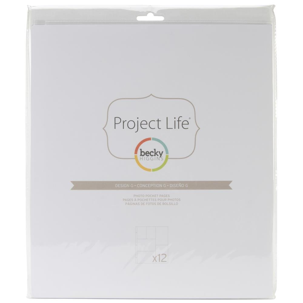 Project Life Page Refills-Design G (12 Pack)