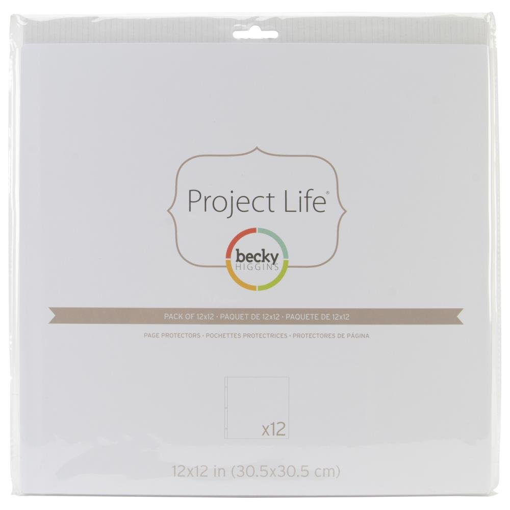 Project Life Page Refills-12x12 Full Sleeve