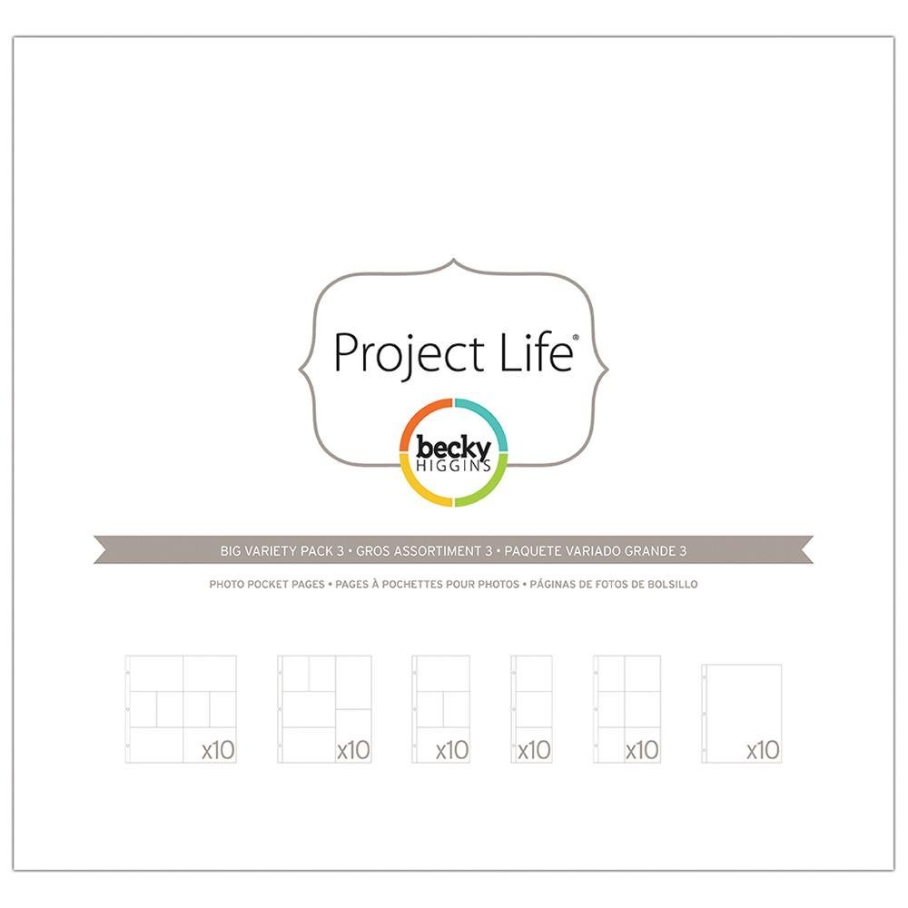 Project Life Page Refills-Big Variety Pack 3