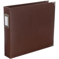 Project Life 12x12 Faux Leather Album-Cinnamon