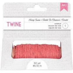 American Crafts-Rosebud Hemp Twine