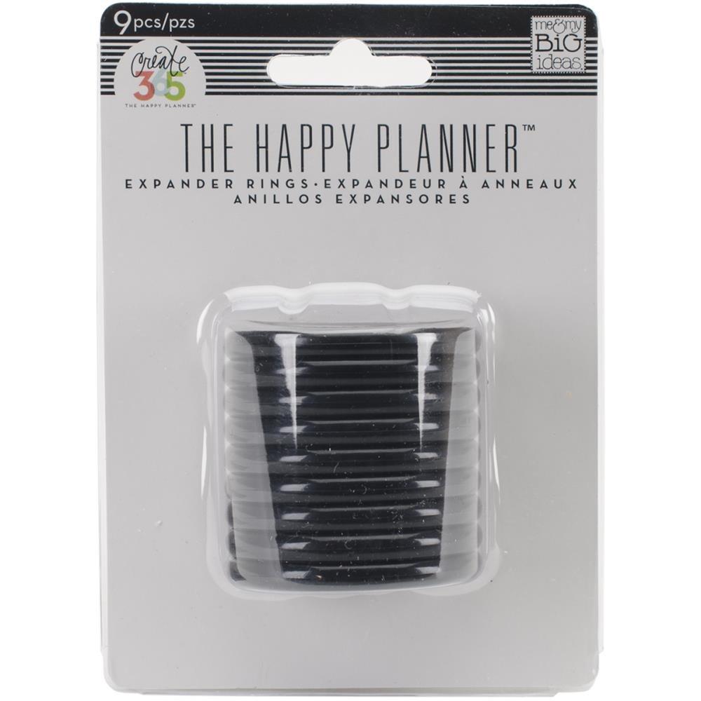 Happy Planner Discs-Black 1.75 (9/pkg)