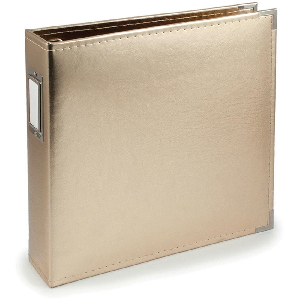 We R Memory Keepers 12x12 Album-Gold